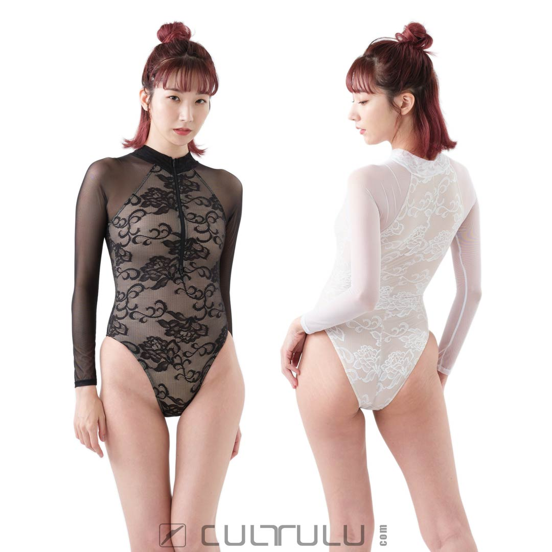 Realise lace-swimsuit N-LC-1006