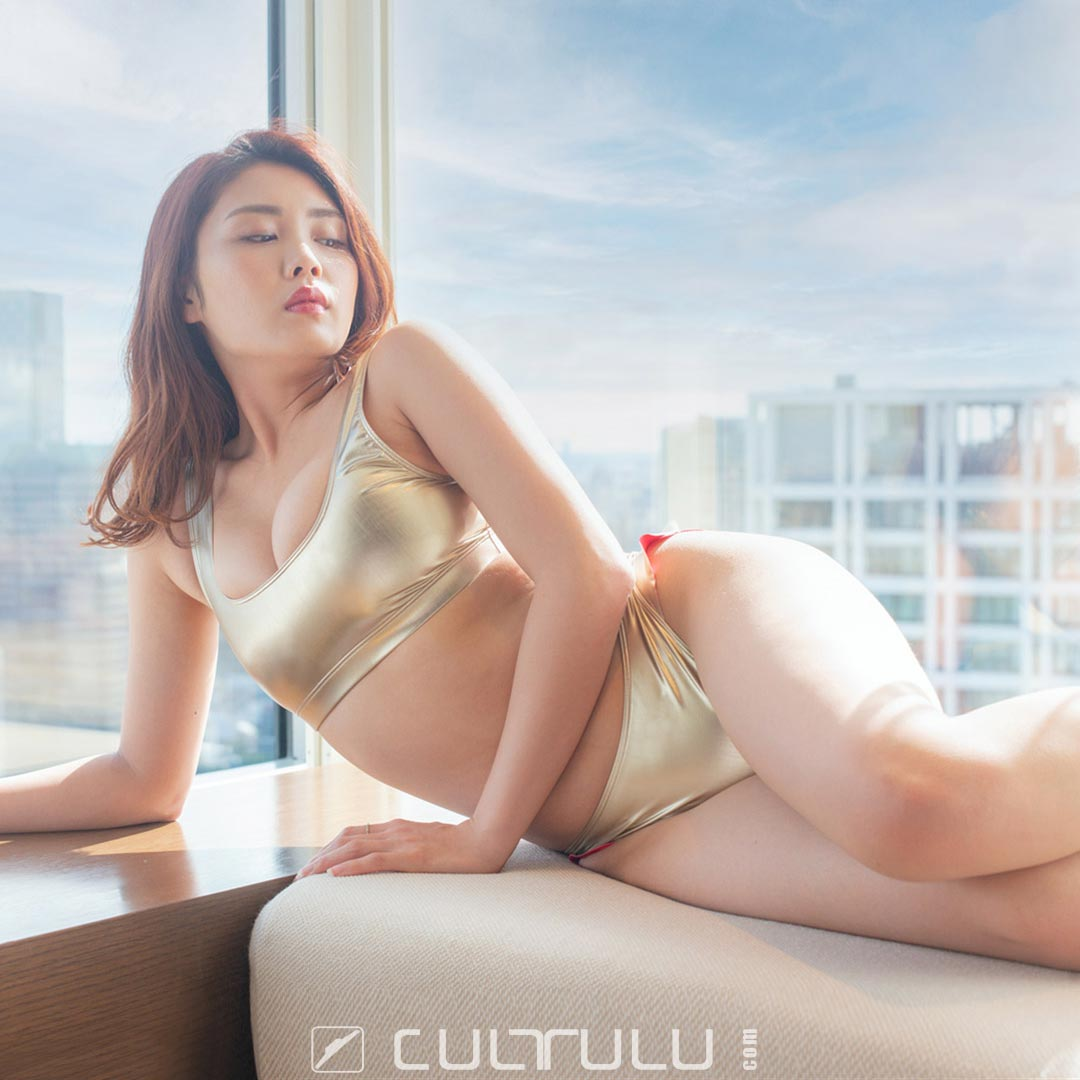 Poolsider metallic bikini PS-SS-20-1000-03HL gold