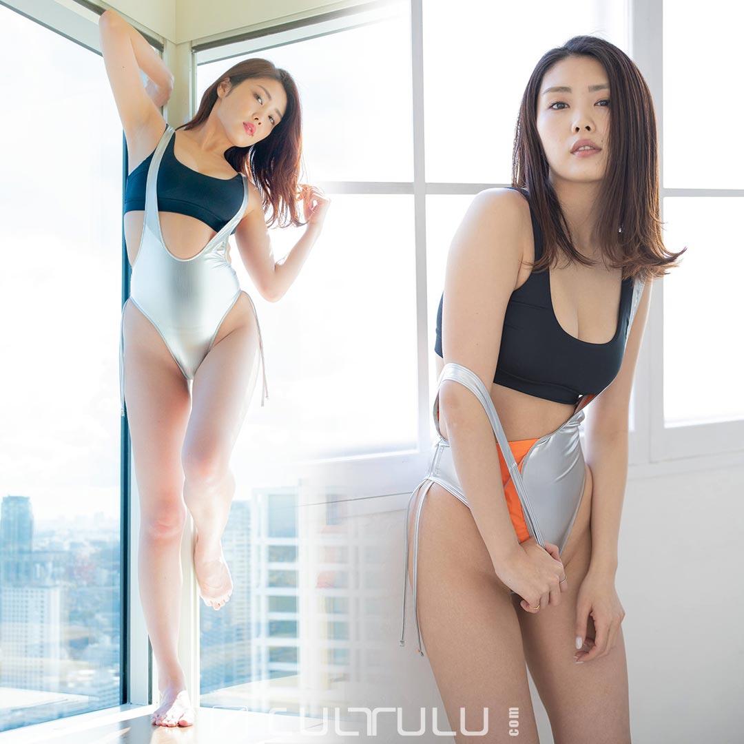Poolsider rubberized bikini PS-SS-1000-01HL silver